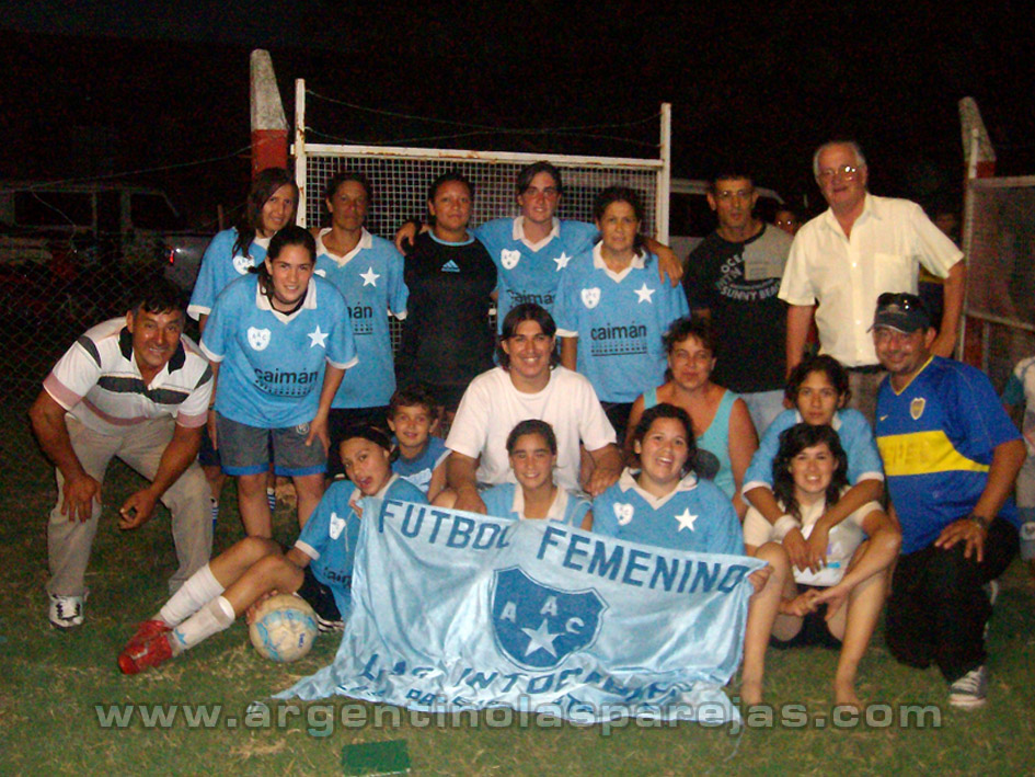 Futbol femenino pasó por Monje