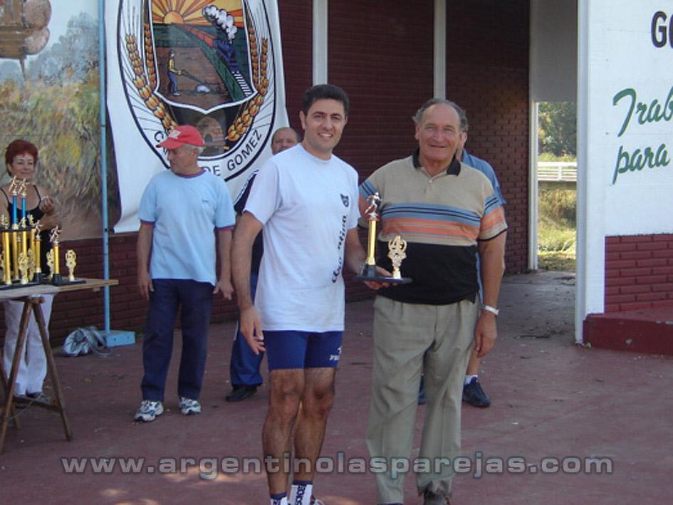 Maratón en Cañada de Gómez