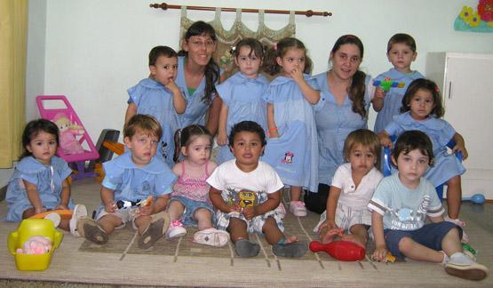 Los pequeños de Jardín Maternal.