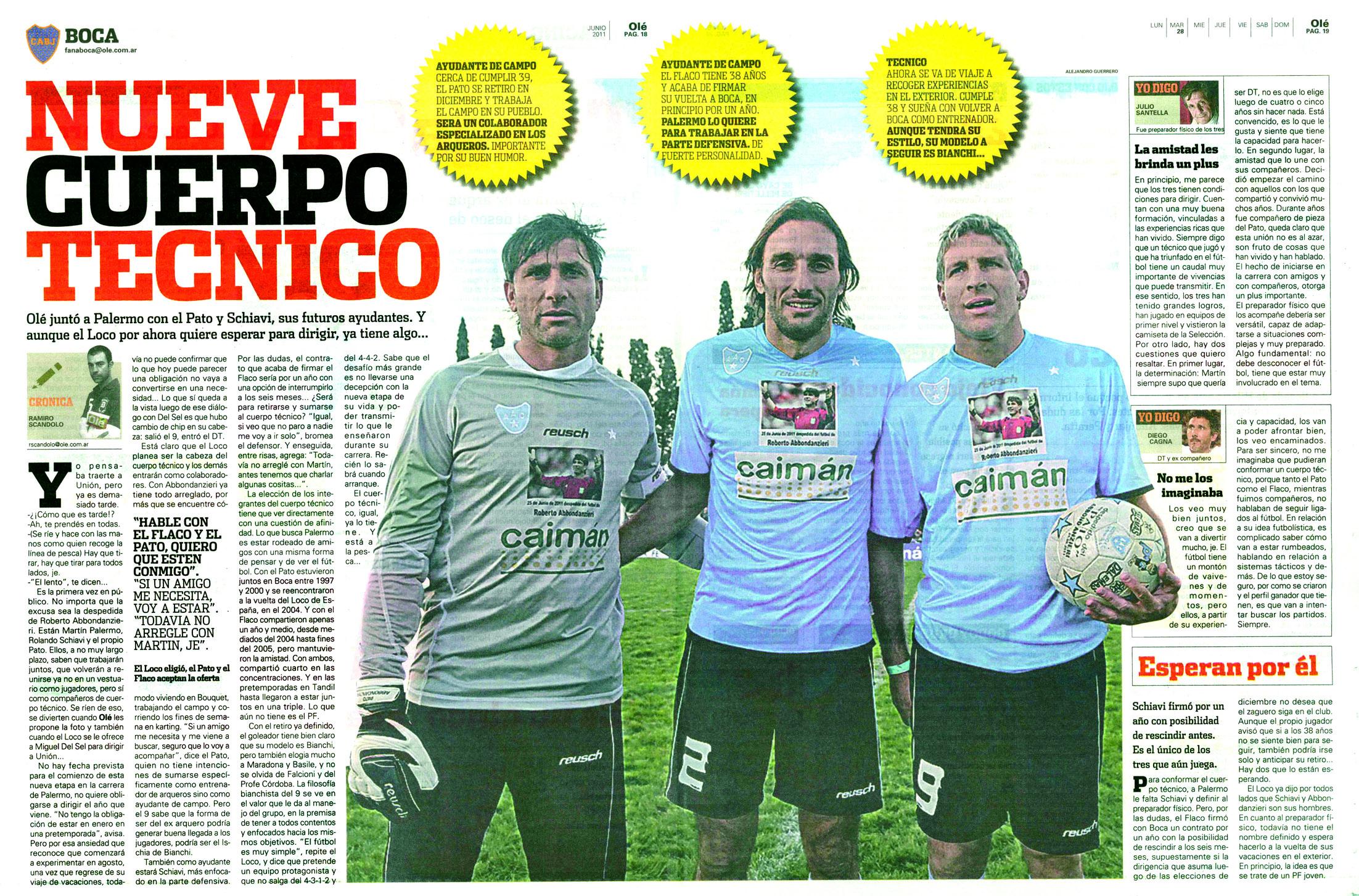 El País habló del Pato y de Argentino