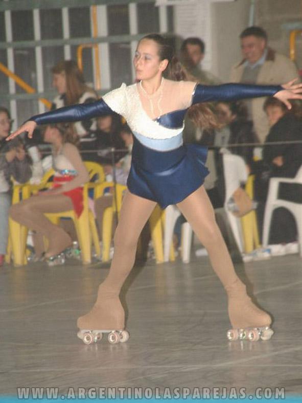 Otra buena jornada de las patinadoras celestes