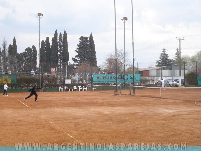 Extensa actividad de los tenistas