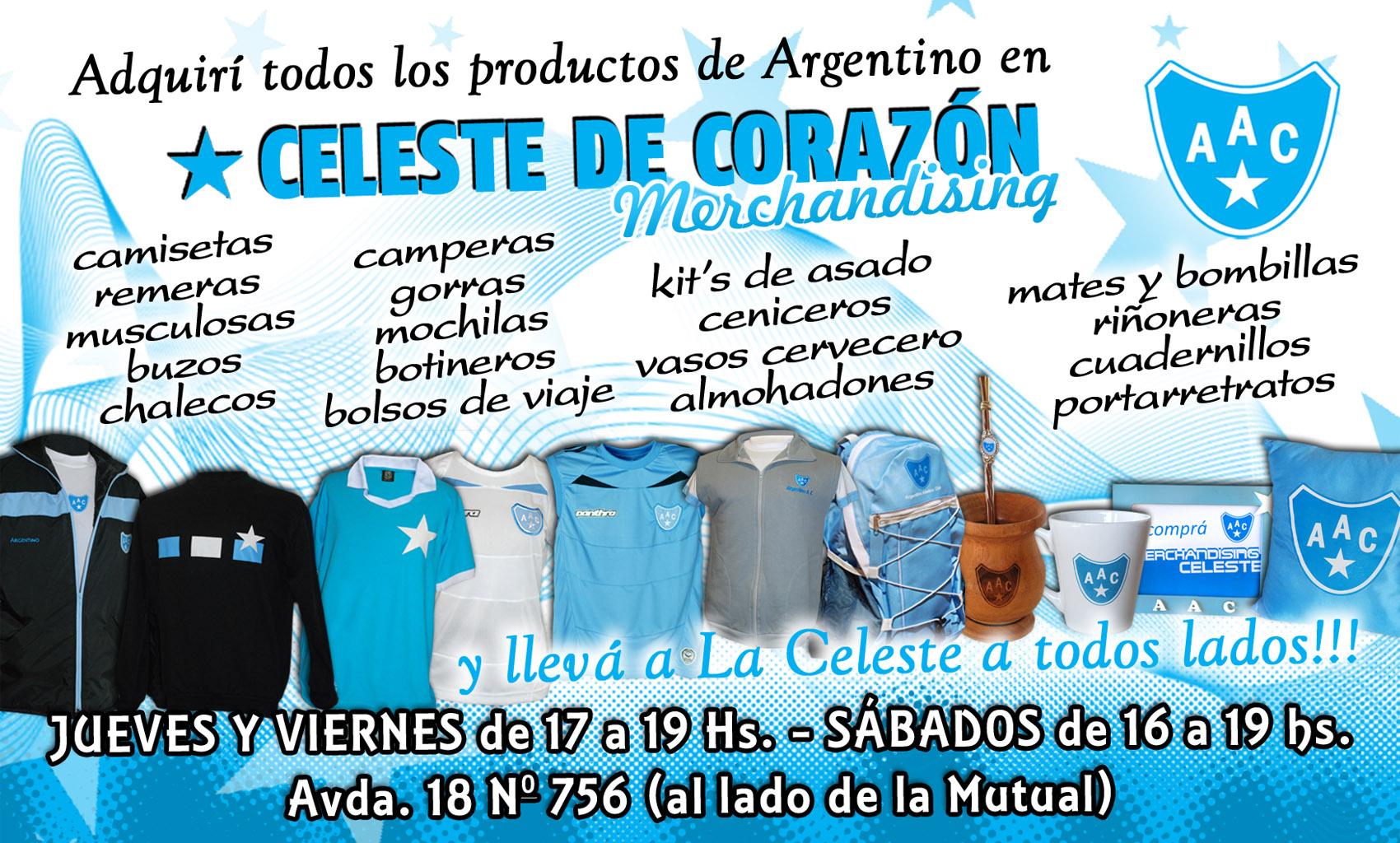 Lleva a Argentino a todos lados