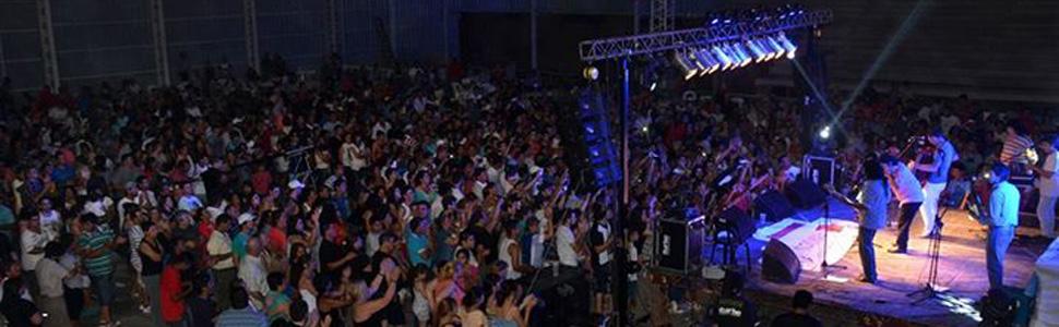 El Festejo de Los Lirios en el nuevo Estadio Cubierto