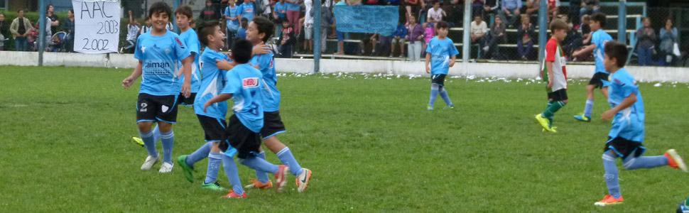 Arranca fútbol infantil