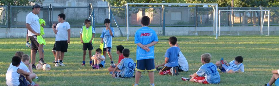 Los más chicos del fútbol arrancan el año