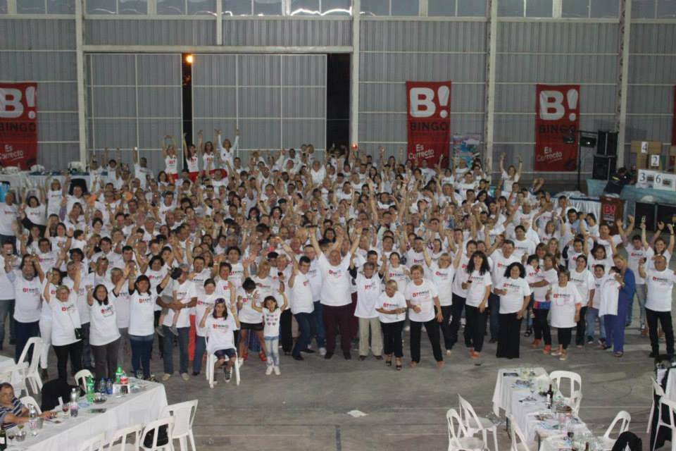 """Bingo Interclubes despidió el año en el """"Gigante"""""""