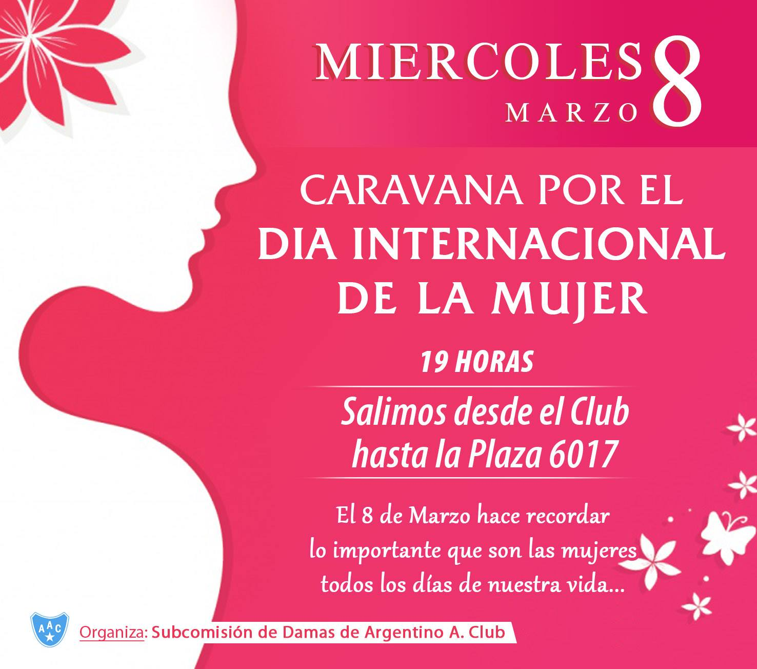¡FESTEJAMOS EL DÍA DE LA MUJER EN CARAVANA!
